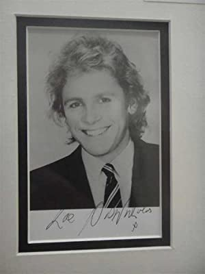 Paul Nicholas, TV, Comedy Actor, Hand Signed Autograph 2010