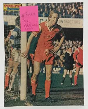 Steve Whitworth Leicester City FC Hand Signed Autograph 1975