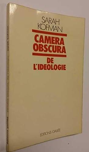 Camera Obscura, De L'ideologie: Kofman, Sarah