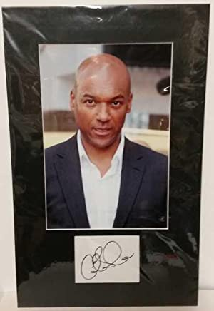 Colin Salmon, Hand Signed Autograph 2011