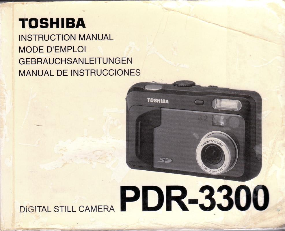 toshiba camera manual