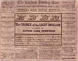 Alfred Lord Tennyson's the Charge of the Light Brigade: Tennyson, Sir Alfred Lord