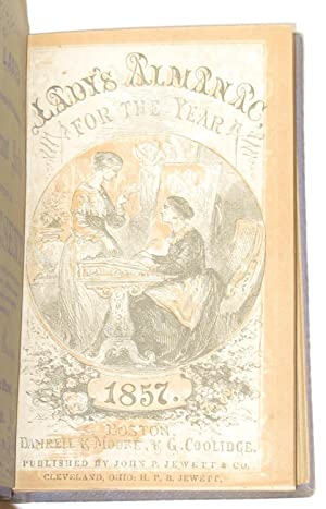 The Lady's Almanac for 1854, 1856, 1857 , 1860 and 1861