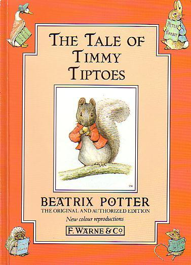The Tale Of Timmy Tiptoes By Potter Beatrix Frederick Warne And Co