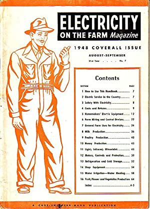 Electricity On The Farm Magazine - 17 Issues 1948-1953