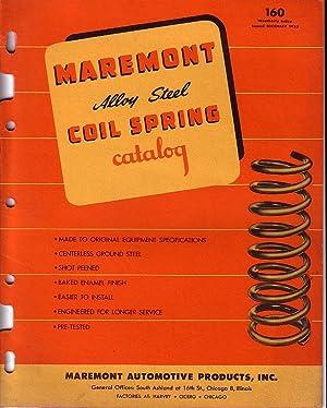 Maremont Alloy Steel Coil Spring Catalog - December 1953