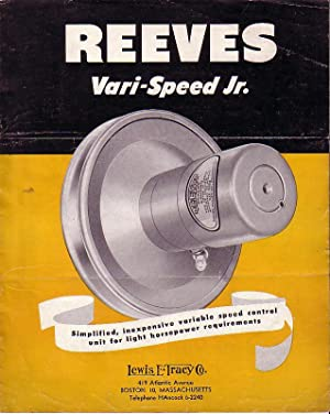 Reeves Vari-Speed Jr. - Simplified, Inexpensive Variable Speed Control Unit for Light Horsepower ...