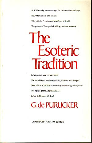 The Esoteric Tradition - Volume II