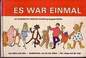 Es War Einmal - An Elementary German Reader: Ehrlich, Susanne