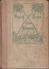 Bits of Verse From Hawaii - Souvenir Edition BOUND IN HAWAIIAN TAPA CLOTH