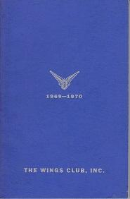 The Wings Club, Inc. Yearbook 1969-1970