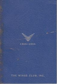 The Wings Club, Inc. Yearbook 1965-1966