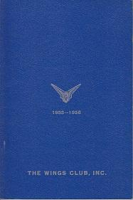 The Wings Club, Inc. Yearbook 1955-1956