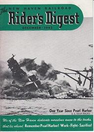 The New Haven Railroad Rider's Digest December 1942