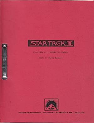 Star Trek III: Return to Genesis - Movie Script