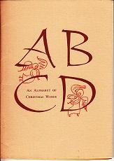 An Alphabet of Christmas Words - LIMITED EDITION, No. 83 Typophiles Monograph: Oakley, Helen ...
