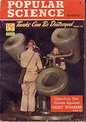 Popular Science Monthly, December, 1941