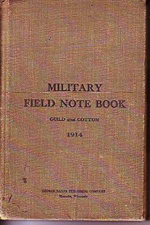 Military Field Note Book: Guild, George R. / Cotton, Robert C.