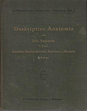 Atlas Der Deskriptiven Anatomie Des Menschen. I, Abteilung: Knochen, Bander, Gelenke, Regionen Und ...