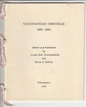 Tancopanican Chronicle 1830-1834 - 7 Booklets