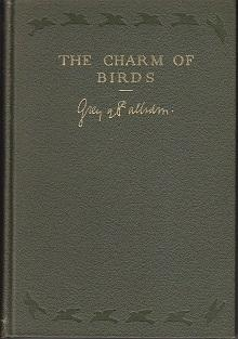 The Charm of Birds [Advance Copy]: Viscount Grey of Fallodon