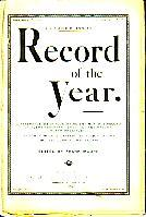 Record of the Year - October 1876 Issue