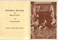 Christmas Card from Governor and Mrs. Sumner Sewall, at the Blaine House, Maine
