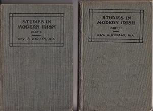 Studies in Modern Irish, Part I & II - 2 Volumes