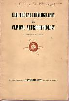 Electroencephalography and Clinical Neurophysiology - An International Journal - November 1949, V...