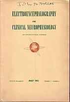Electroencephalography and Clinical Neurophysiology - An International Journal - May 1951, Volume...