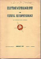 Electroencephalography and Clinical Neurophysiology - An International Journal - August 1951, ...