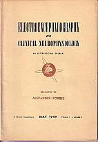 Electroencephalography and Clinical Neurophysiology - An International Journal , May 1949, Volume...