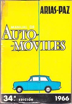 Manual De Automoviles, 34.a Edicion: Arias-Paz, Manuel