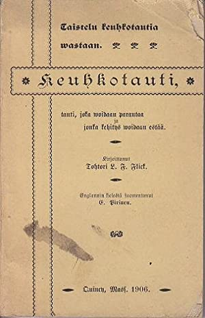 Taistelu Keuhkotautia Wastaan. Keuhkotauti, Tauti, [SCARCE Book on TB, Consumption, Lung Disease]