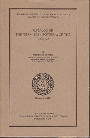 Catalog of The Termites (Isoptera) of the World