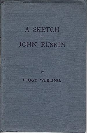 A Sketch of John Ruskin [SIGNED]
