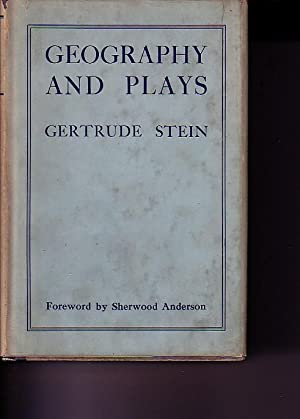 Geography and Plays: Stein, Gertrude