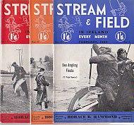 Stream & Field in Ireland - 12 Issues for the Year 1958