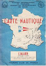 Carte Nautique - L' Allier [The River Allier]