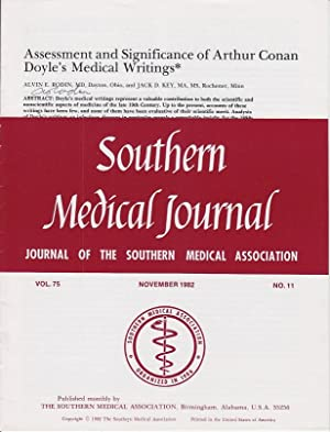 Assessment and Significance of Arthur Conan Doyle's Medical Writings [SIGNED]