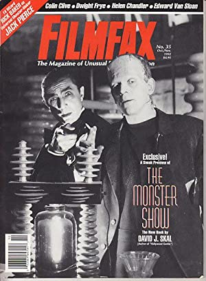 Filmfax - 5 Issues from 1992. #30, #31, #33, #34, & #35