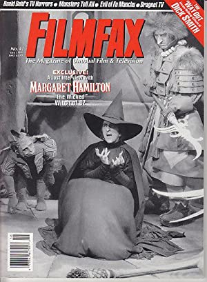 Filmfax - 6 Issues from 1993. #36, #37, #38, #39, #40 & #41
