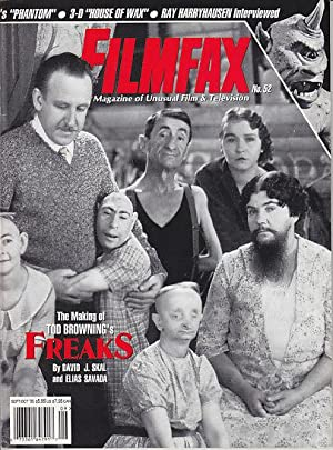 Filmfax - 6 Issues from 1995. #48, #49, #50, #51, #52 & #53