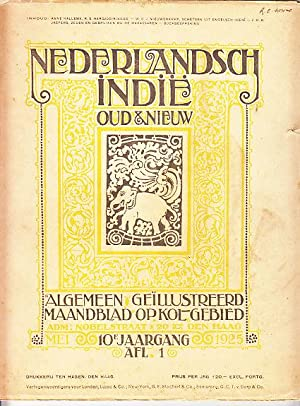 Nederlandsch Indie Oud & Nieuw - 12 Concurrent Issues from May 1925 to April 1926