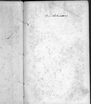 MEMOIR OF THE REV. WILLIAM ROBINSON, FORMERLY PASTOR OF THE CONGREGATIONAL CHURCH IN SOUTHINGTON, ...