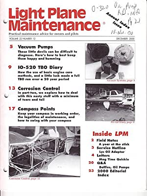 Light Plane Maintenance - Practical Maintenance Advice For Owners and Pilots - 9 Issues