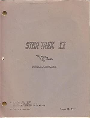Star Trek II Writer/Director's Guide
