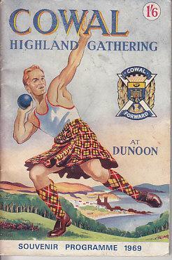 Cowal Highland Gathering at Dunoon - Souvenir Programme 1969 - SCARCE: Various
