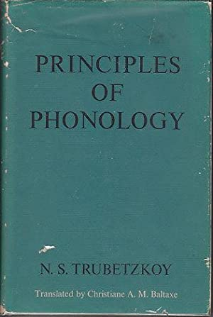 Principles of Phonology