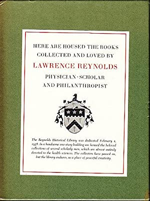 Rare Books and Collections of the Reynolds Historical Library - A Bibliography. In a Slipcase, an...